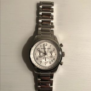 Michael Kors Women's Large Stainless Steel Watch